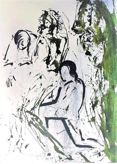 Et Tulit Corpus Iesu - Original Lithograph by Salvador Dalì - 1964