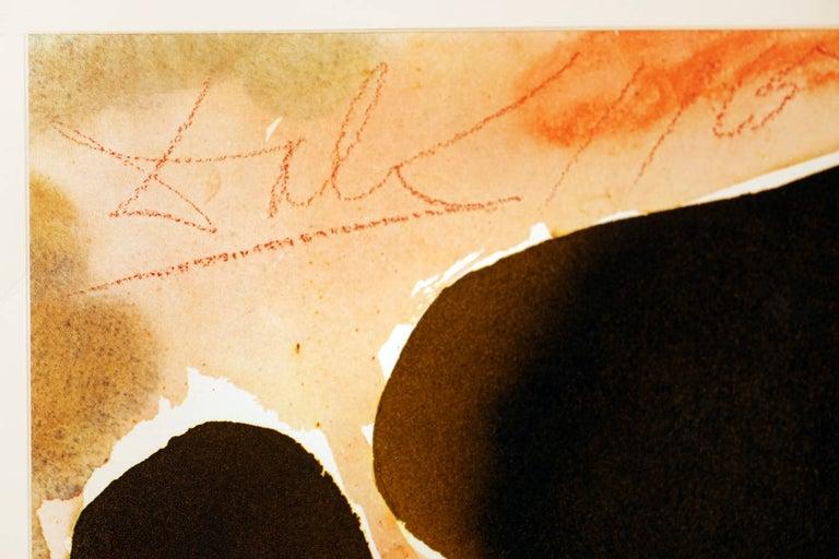 Fallen Angel from Dali's Biblia Sacra - Surrealist Print by Salvador Dalí
