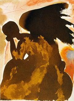Fallen Angel from Dali's Biblia Sacra