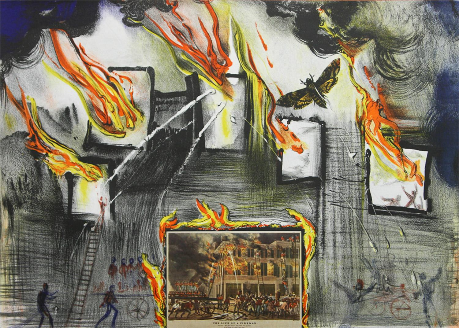 Fire, Fire Fire The World of Currier & Ives as interpreted by Salvador Dali