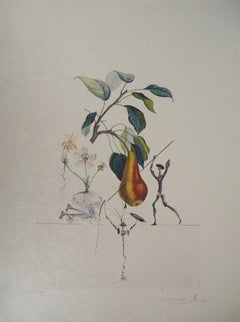 Flordali : Don Quichotte Pear - Original Handsigned Etching (Field 69-11H)