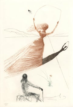 Frontis Piece to Alice's Adventures in Wonderland by Dali, Edition of 200