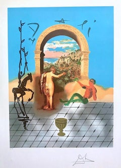 Gateway To The New World, Dali Discovers America Portfolio, Signed Lithograph