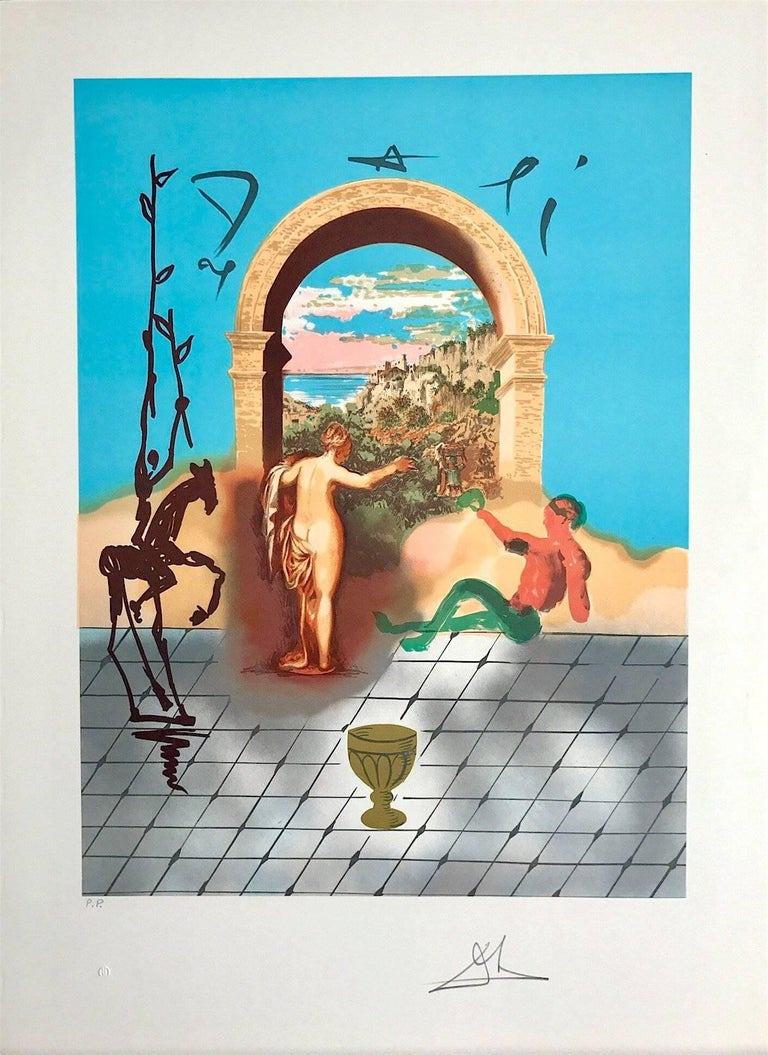 Gateway To The New World, from the Dali Discovers America Portfolio