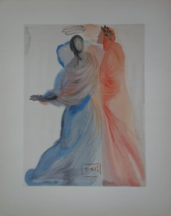 Heaven 18 - Beatrice's Splendor - Original woodcut - 1963