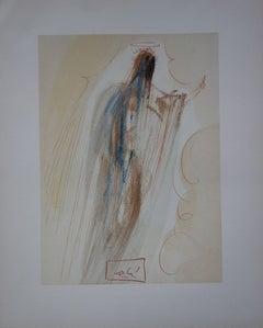 Heaven 29 - The Creation of Angels - Woodcut print - 1963 (Field p. 189)
