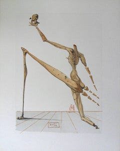 Hell 28 - Bertrand de Horn - woodcut - 1963