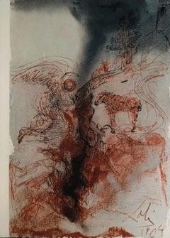 """Hircus caprarum super faciem terræ - From """"Biblia Sacra"""""""