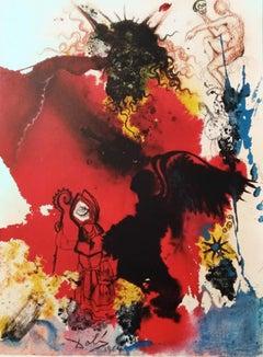 "Iesus a Satana tentatur - From ""Biblia Sacra"" - 1960s - Dalì - Surrealism"