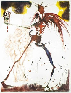 """Illustration from """"Pater Noster"""" - Original Lithograph by Salvador Dalì - 1966"""