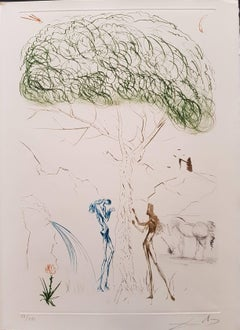 """Plate from """"Tristan and Isolde"""": Under the Parasol Pine"""