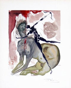 Inferno Canto 12: The Minotaur from The Divine Comedy