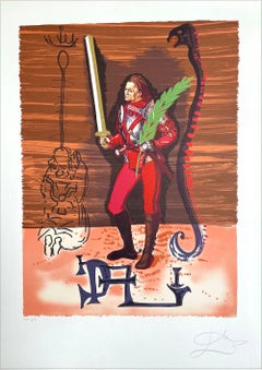 JACK OF SWORDS: Christopher Columbus Discovers America, Signed Lithograph