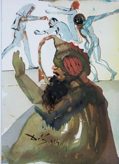 Joseph And His Brothers in Egypt from Biblia Sacra by Salvador Dali