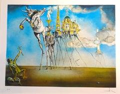 La Tentation de Saint Antoine - Salvador Dali - Lithograh - Surrealist