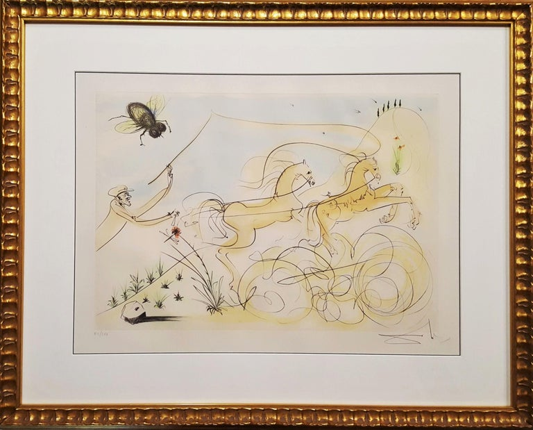 Le Coche et le Mouche (The coach and the fly) - Print by Salvador Dalí