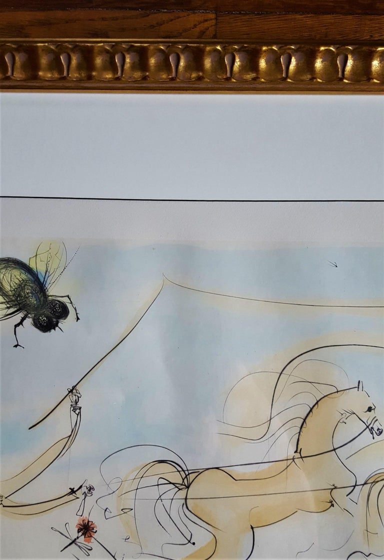 Le Coche et le Mouche (The coach and the fly) For Sale 2
