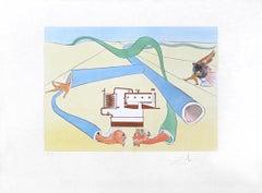 Le Cracking du pétrole (Cracking Petroleum), Hand-signed limited edition print