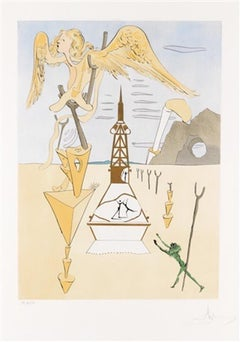 Le Fusée (The Rocket), Hand-signed limited edition lithograph