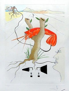 Le Télephone (The Telephone), Limited edition hand-signed lithograph