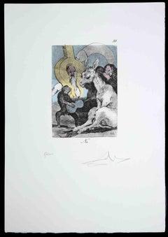 Les Caprices de Goya de Dalì - Salvador Dalì Attributed - 1977