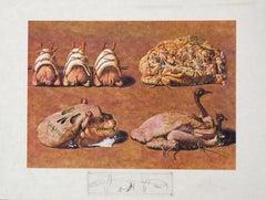 Les Caprices Pinces Princiers from Les Diners de Gala series by Salvador Dali
