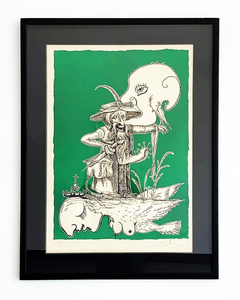 Salvador Dalí Nude Print - Les Songes Drolatiques de Pantagruel