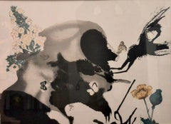 "L'Eté - from the series ""Les Saisons"" - Original Lithograph by S. Dali - 1972"