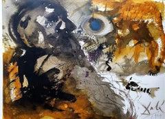 "Leviathan From ""Biblia Sacra"" - 1960s - Salvador Dalì - Lithograph"