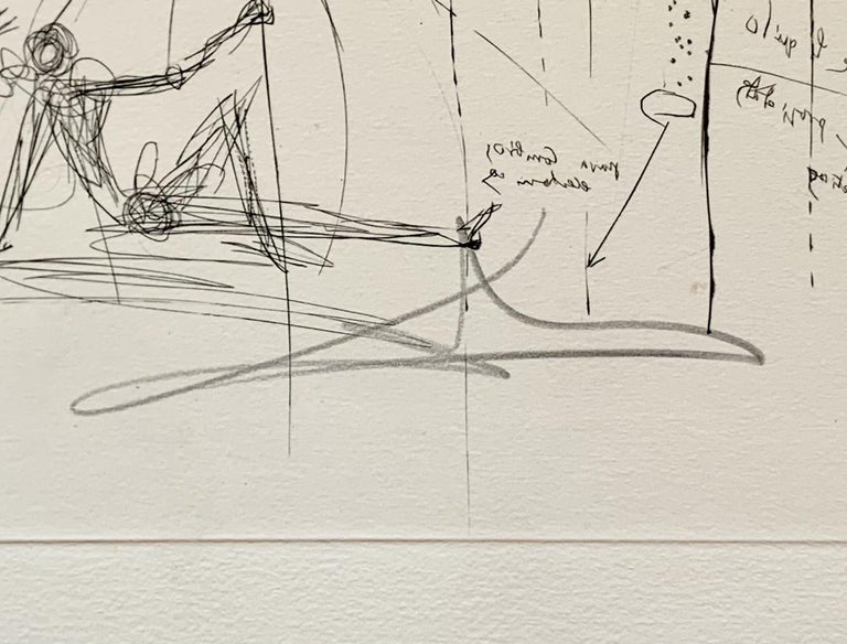 Liquid Tornado Bathtub - Surrealist Print by Salvador Dalí