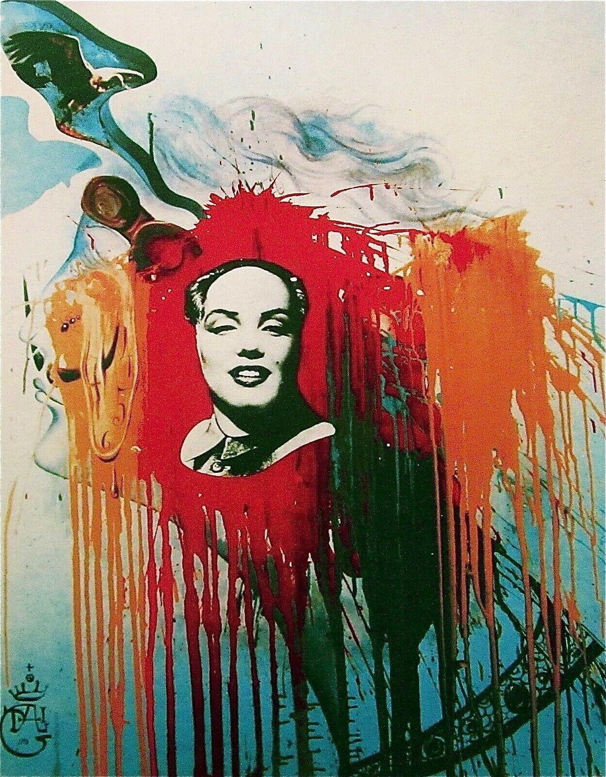 Marilyn-Mao, 1989 Limited Edition Lithograph, Salvador Dali - 1st Edition