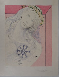 Marquis de Sade : As Pure as Her Heart - Handsigned lithograph