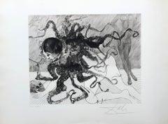 Medusa - Original Etching Handsigned - Mythology - 150 copies