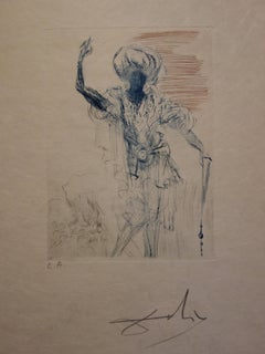 Much Ado About Shakespeare : Othello - Original  Signed Etching