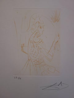 Much Ado About Shakespeare : Troilus and Cressida - Original  Signed Etching