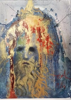 "Nabuchodonosor Rex Babulonis - From ""Biblia Sacra"" - 1960s - Dalì - Lithograph"