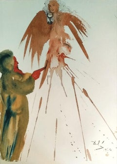 """Oblatio Munda - Original Lithograph from """"Biblia Sacra"""" - 1964"""