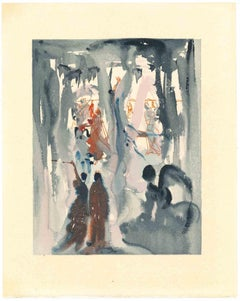 Original Perfection - Original Woodcut Print by Salvador Dalì - 1963