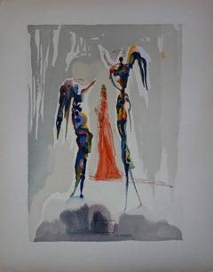 Paradise 27 : Gloria Patri - Color Woodcut - 1963