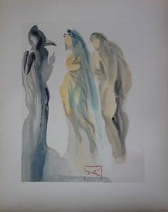Paradise 9 - The Heaven of Venus - Woodcut - 1963