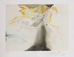 Pegasus - Original Lithograph Handsigned