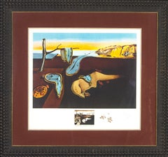 Persistence of Memory from Changes in Great Masterpieces by Salvador Dali