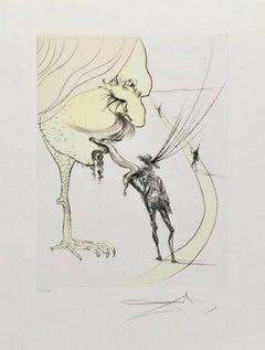 Picasso: Un Billet Pur la Glorie Limited Ed Salvador Dali - FULLY AUTHENTICATED