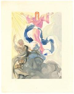 Piccarda Donati - Original Woodcut by Salvador Dalì - 1963