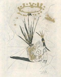 Pudentiane - Original Etching by S. Dalì - 1974