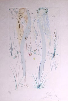 Return, O Shulamite - Original Etching by Salvador Dalì - 1971