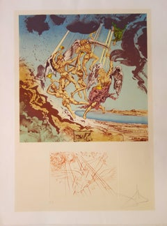 Return of Ulysses - Original etching and litograph - 1977 - Artist proof