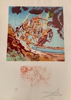 Salvador Dali, Return of Ulysses, etching