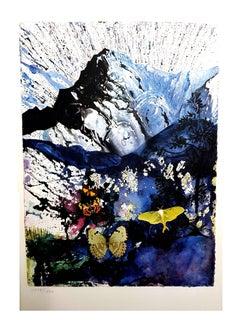 Salvador Dali (after) - Alpes - Lithograph