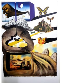 Salvador Dali (after) - Normandie - Lithograph